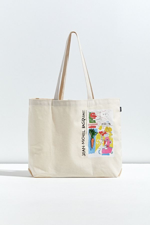 Pintrill X Basquiat Carrot Tote Bag by Pintrill