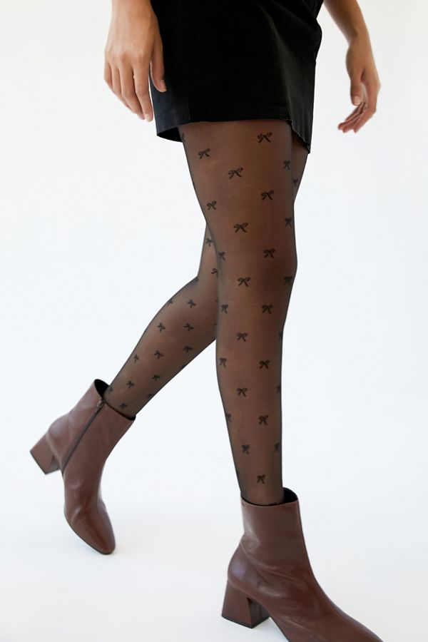 Sheer Icon Tight by Urban Outfitters