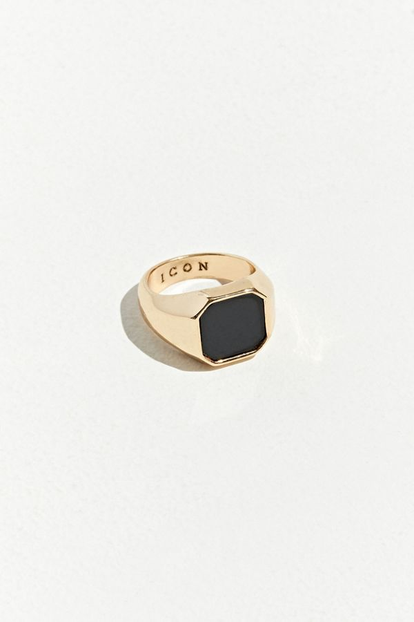 Icon Brand Stealth Signet Ring by Icon Brand