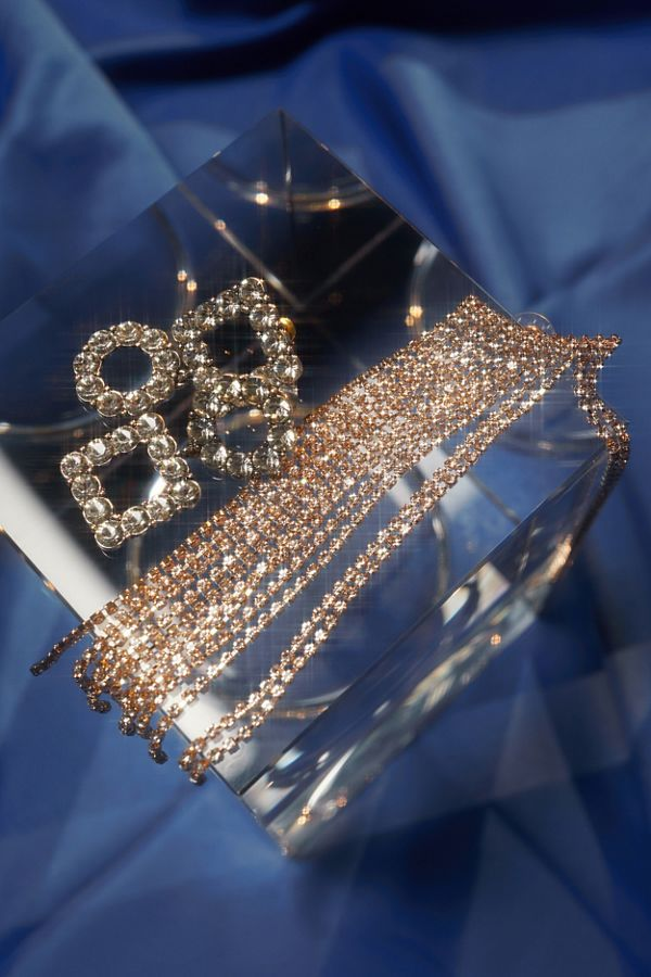 Serena Rhinestone Statement Earring by Urban Outfitters