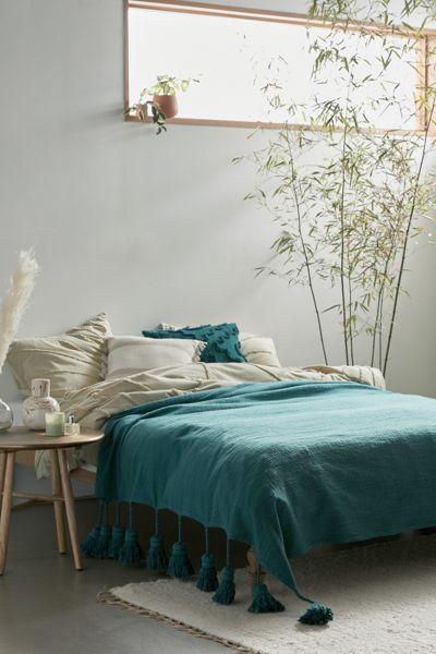 Kip&Co Tassel Bed Blanket