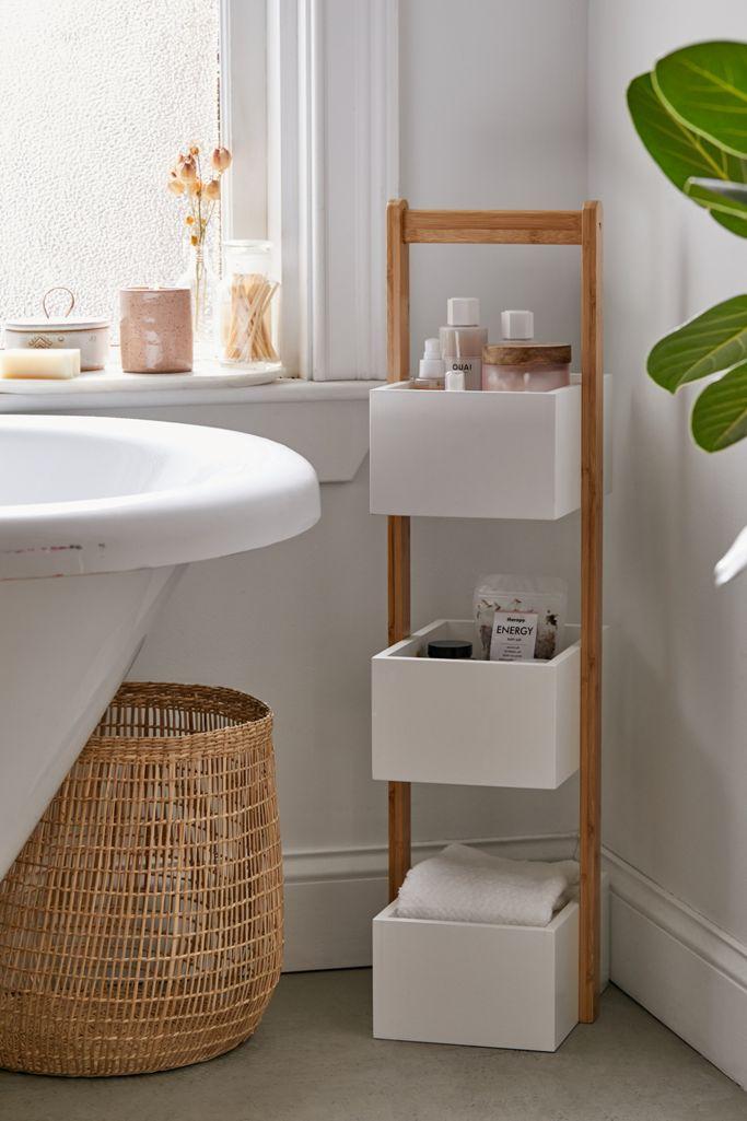 3 Tier Bamboo Bath Storage Caddy
