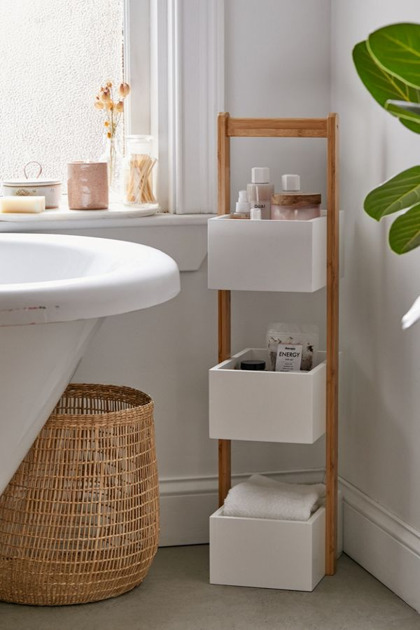3 Tier Bamboo Bath Storage Caddy by Urban Outfitters