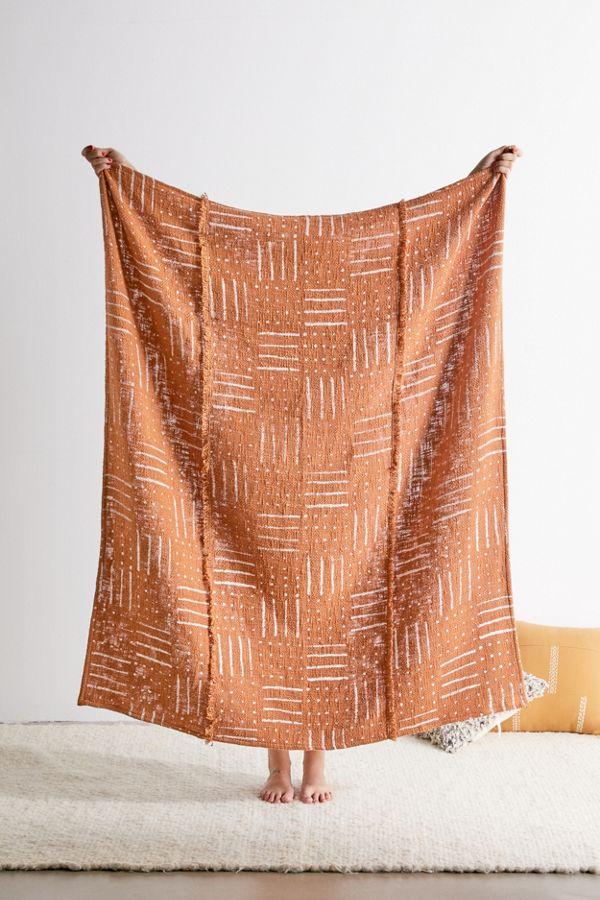 Slide View: 1: Kaya Boho Throw Blanket
