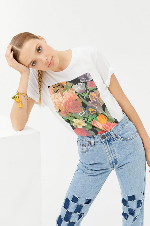 Fall Floral Tee by Urban Outfitters