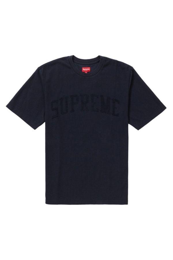 Supreme Chenille Arc Logo S/S Top by Supreme