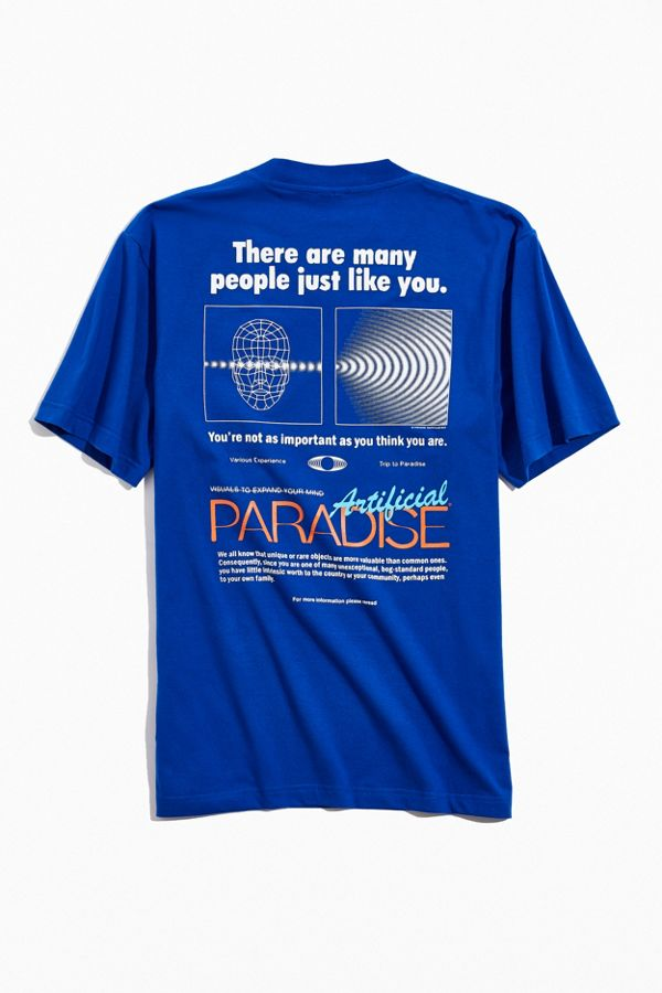 Paradise Youth Club Artificial Tee by Paradise Youth Club