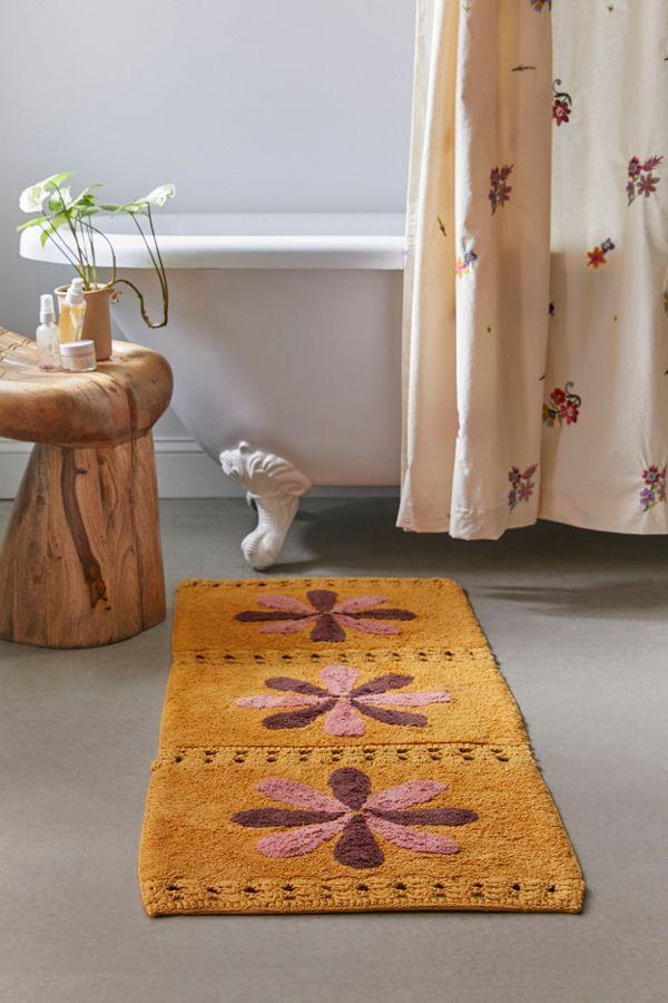 Slide View: 2: Tile Crochet Runner Bath Mat