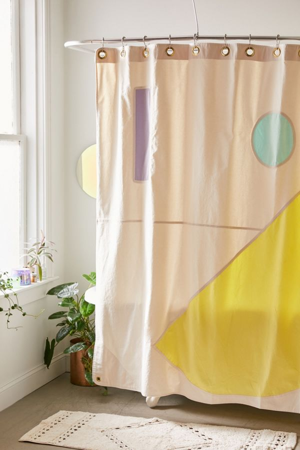 Slide View: 1: Quiet Town Beacon Modern Shower Curtain