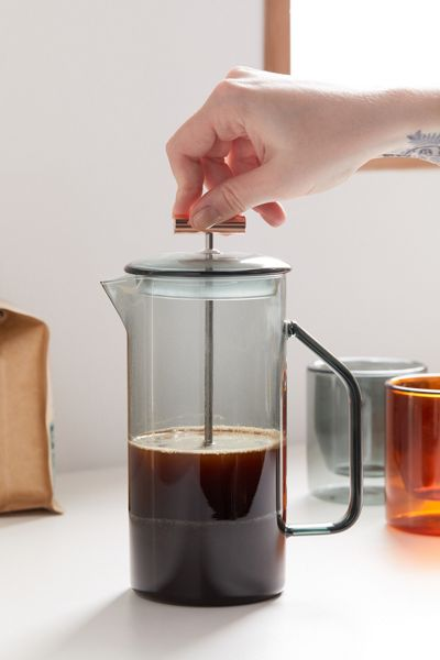 Yield Double-Walled Glass French Press