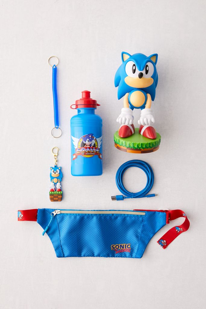 Cable Guys Sonic The Hedgehog Deluxe Gift Box Set Urban Outfitters
