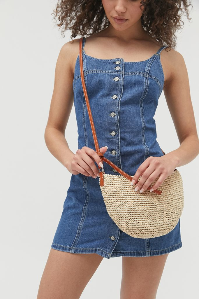 Jessa Straw Urban Outfitters | Crossbody Bag | Cute Crossbody Bags To Match Your Outfits | Cute Outfits