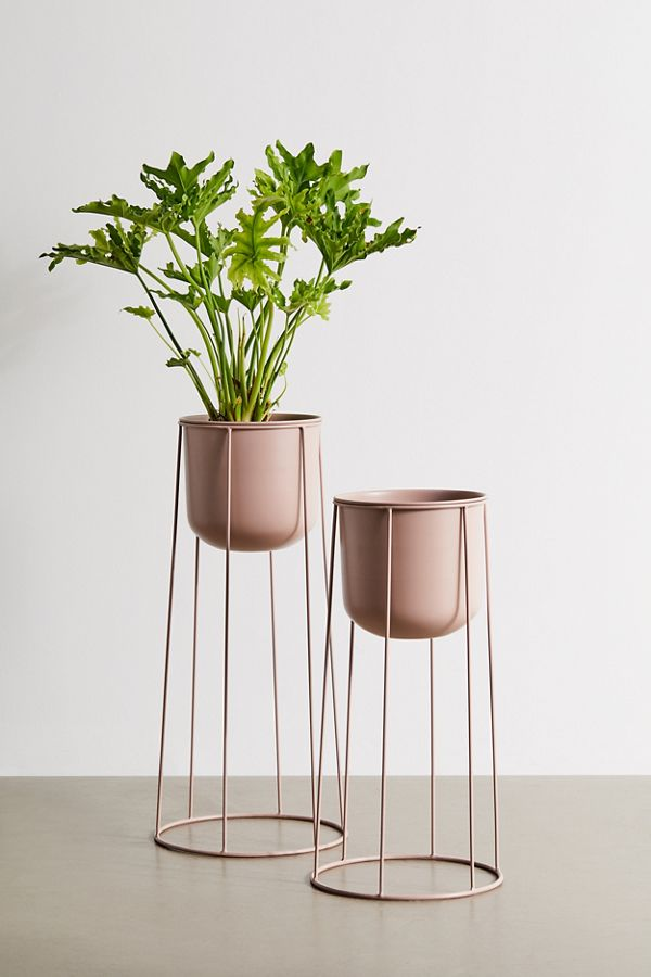 Slide View: 1: Celeste Planter And Stand