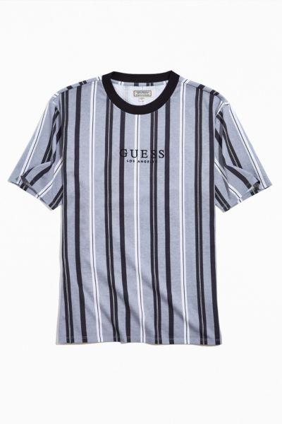 T-shirt à rayures Hotspur de GUESS   Urban