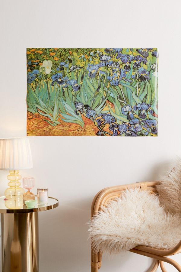 Van Gogh Irises Poster by Urban Outfitters