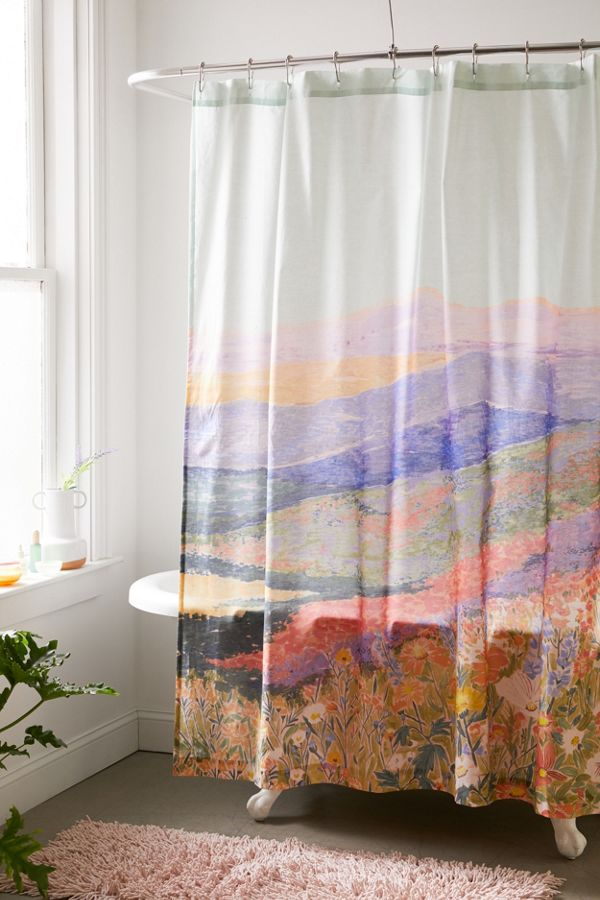 Slide View: 1: Superbloom Shower Curtain