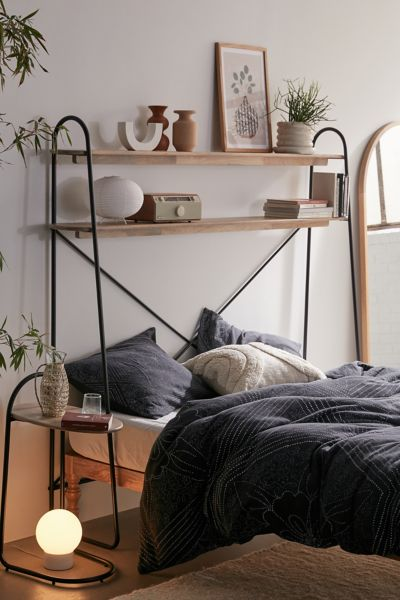 Renata Over The Bed Storage Shelf Urban Outfitters