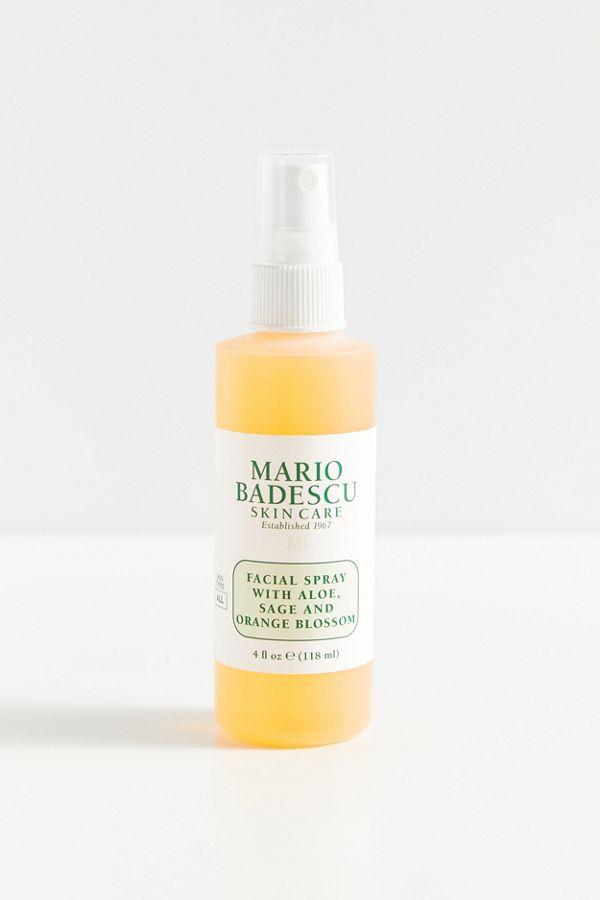 Mario Badescu Facial Spray With Aloe Sage And Orange Blossom 4 Oz