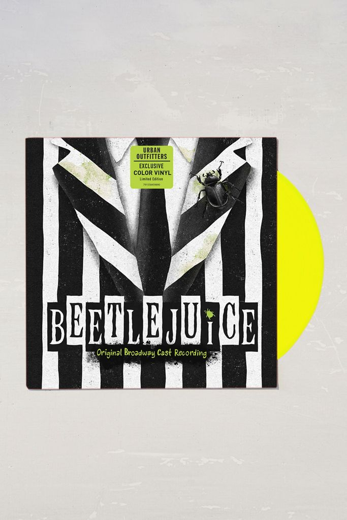 Eddie Perfect Beetlejuice Original Broadway Cast Recording Limited Lp Urban Outfitters