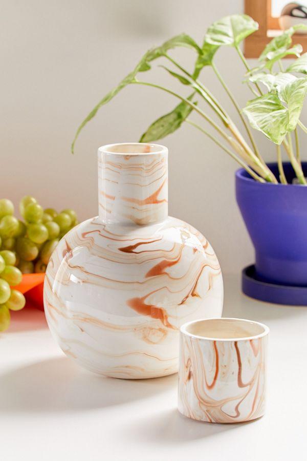 Slide View: 1: Ceramic Carafe Set