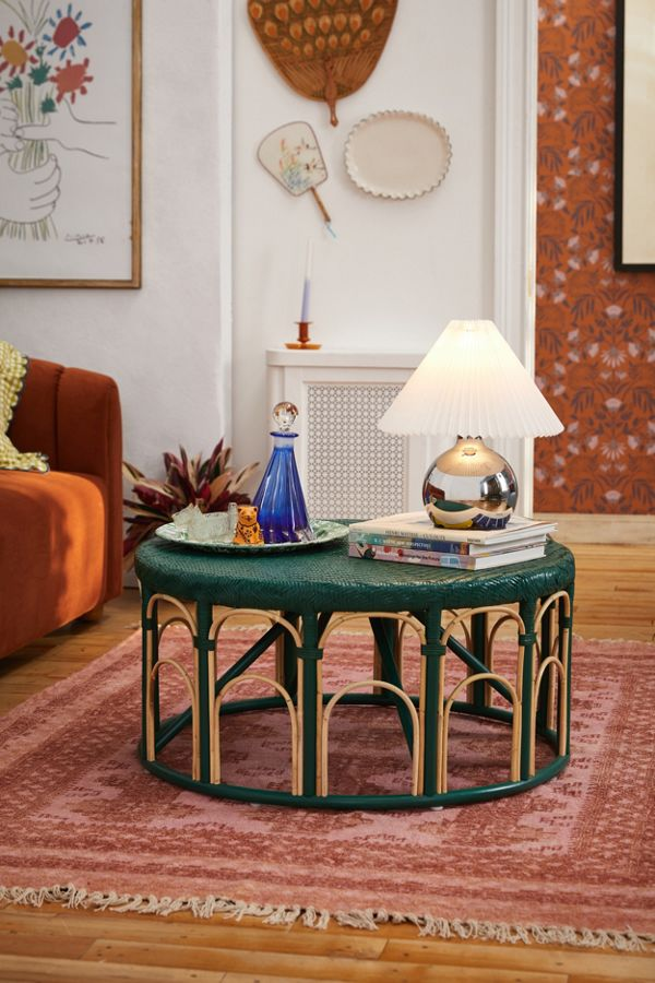 Slide View: 1: Lulu Rattan Coffee Table