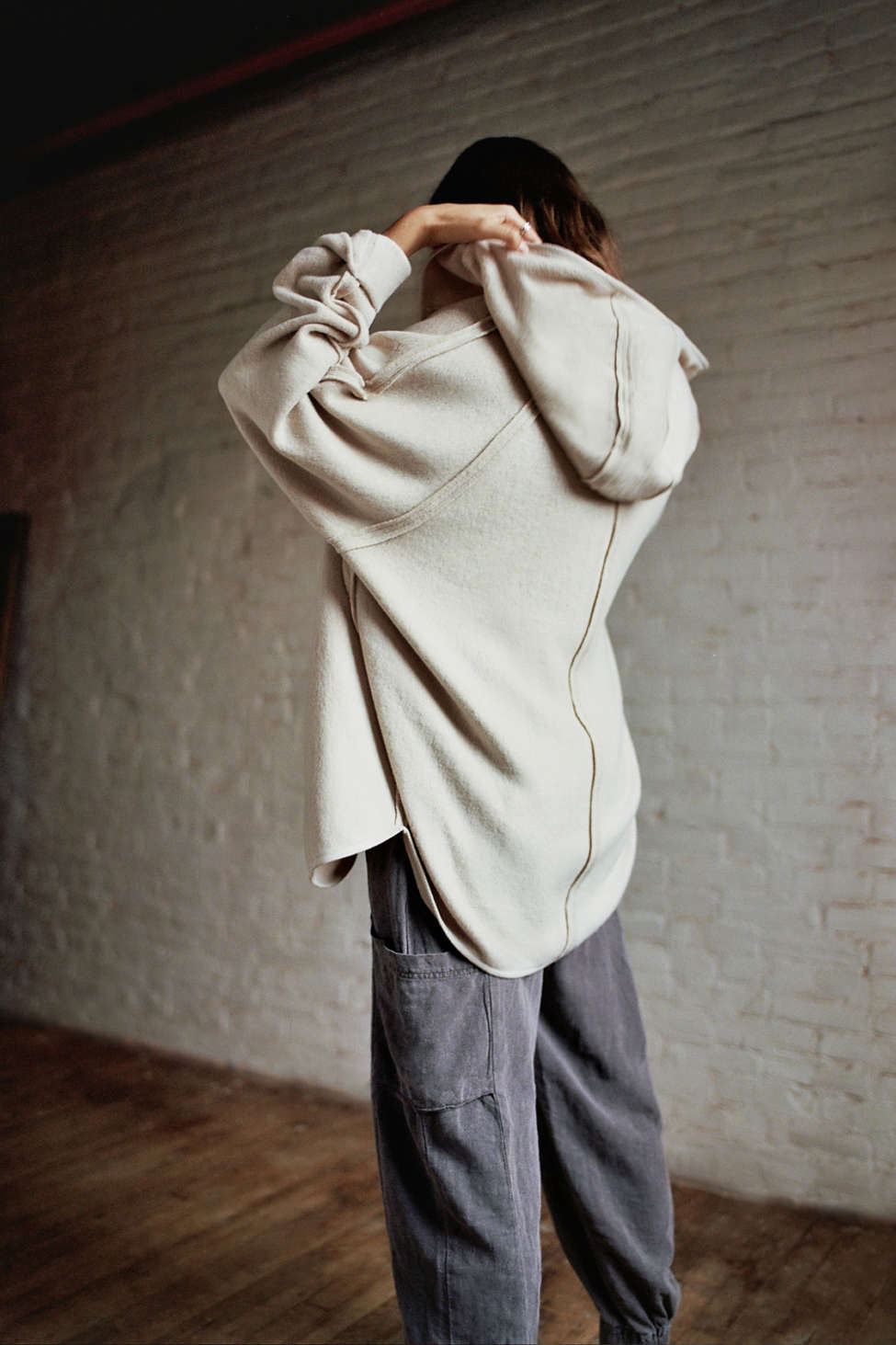 Out From Under Houston Hooded Cardigan   Urban Outfitters