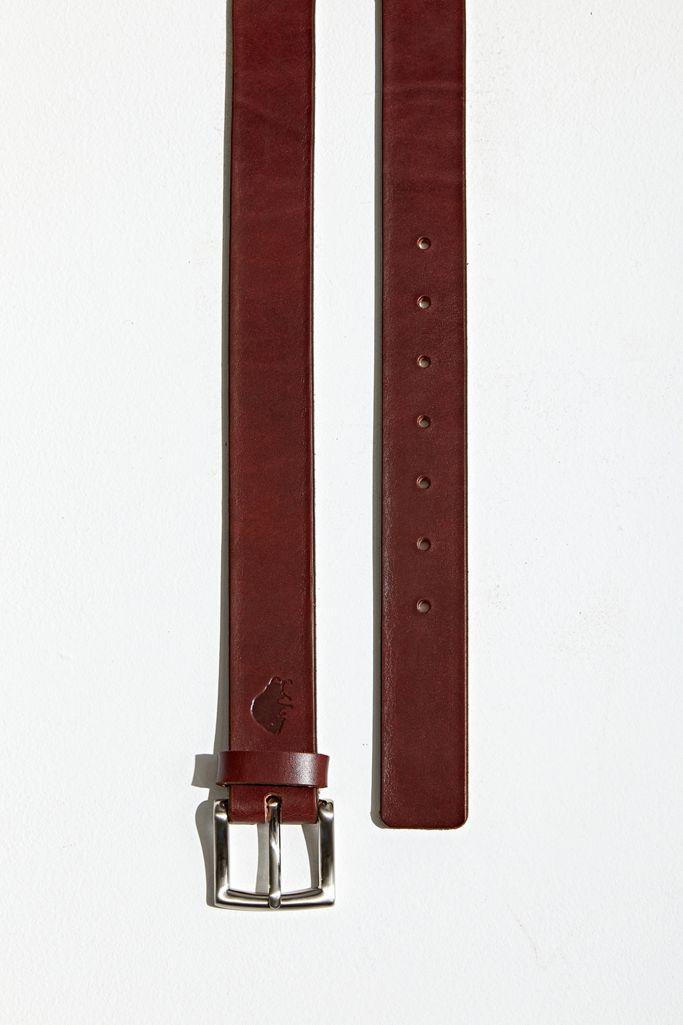 1 Belt Ezra Arthur No Black//Nickel Buckle