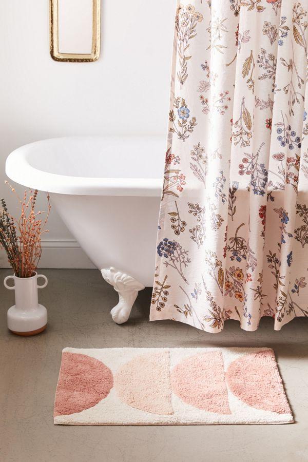 Slide View: 1: Semicircle Vista Bath Mat
