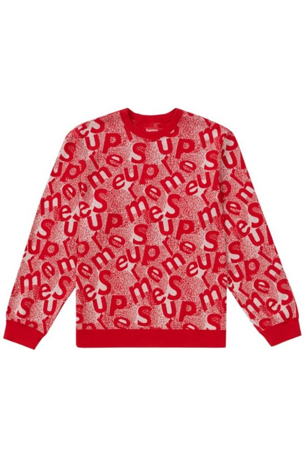 Supreme Scatter Text Crewneck by Supreme