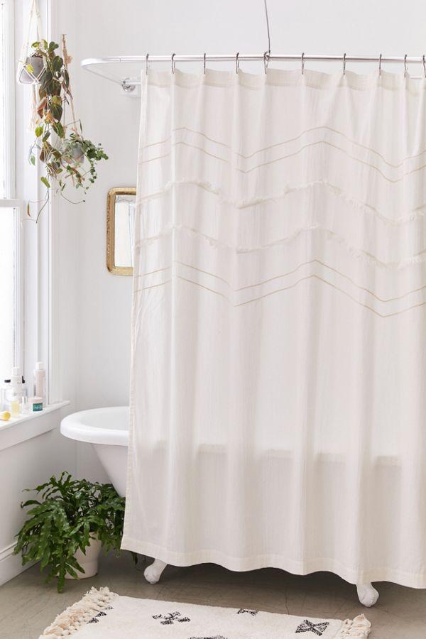 Slide View: 1: Desi Shower Curtain