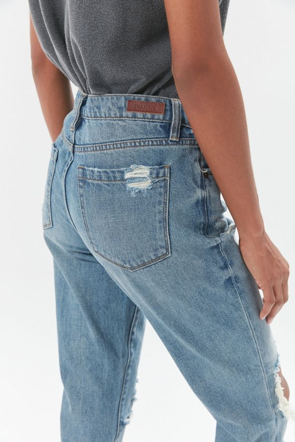 Slide View: 2: BLANKNYC Come Back Mid-Rise Jean – Medium Wash
