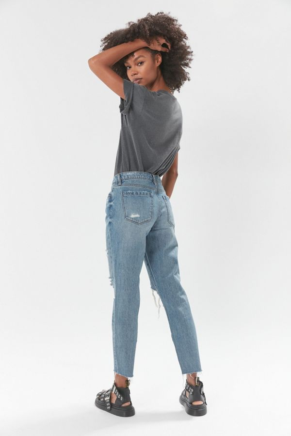 Slide View: 3: BLANKNYC Come Back Mid-Rise Jean – Medium Wash