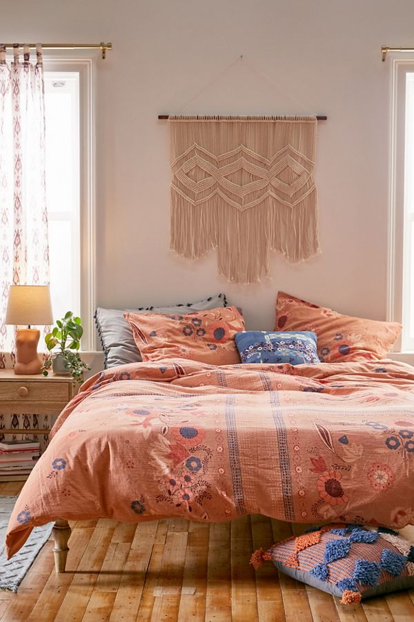 Slide View: 1: Layla Duvet Cover