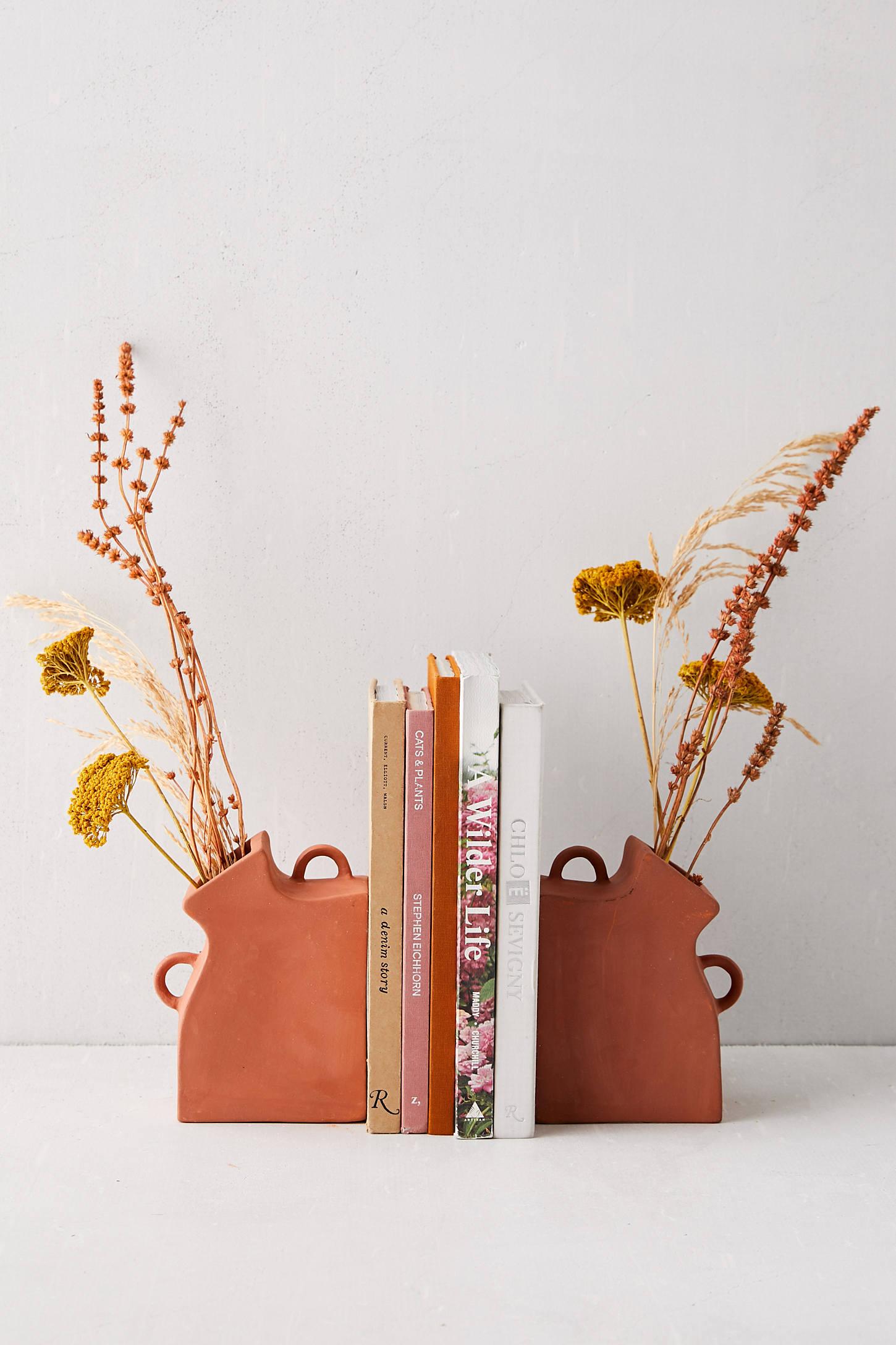 Vase Bookend Set #1