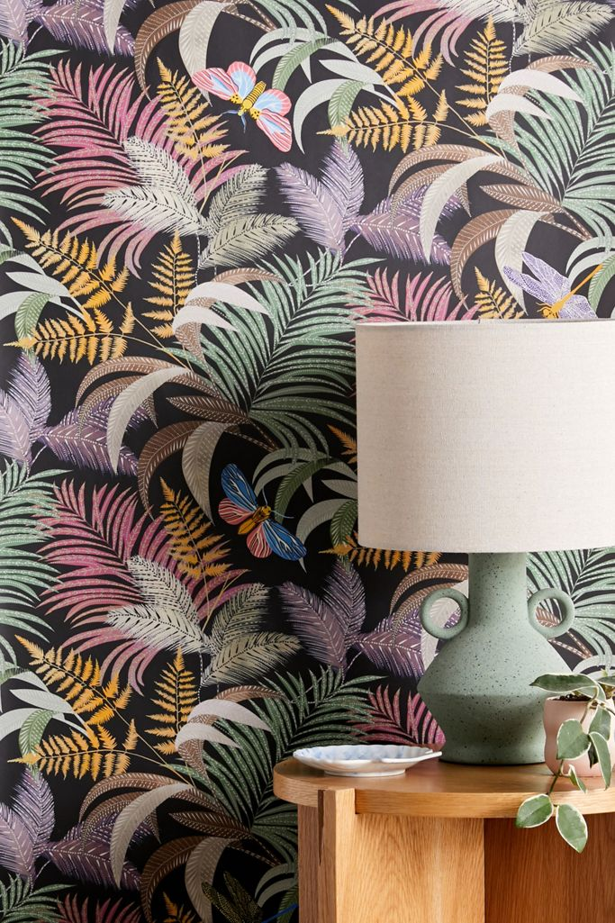 Butterfly Leaves Removable Wallpaper Urban Outfitters