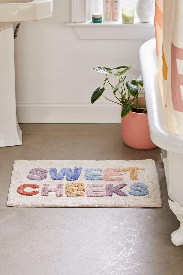 Sweet Cheeks Bath Mat Urban Outfitters