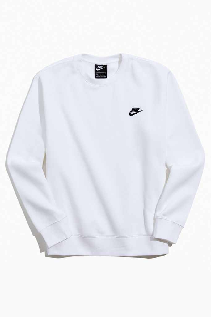 Cañón Anuncio altura  Nike Sportswear Club Fleece Crew Neck Sweatshirt   Urban Outfitters