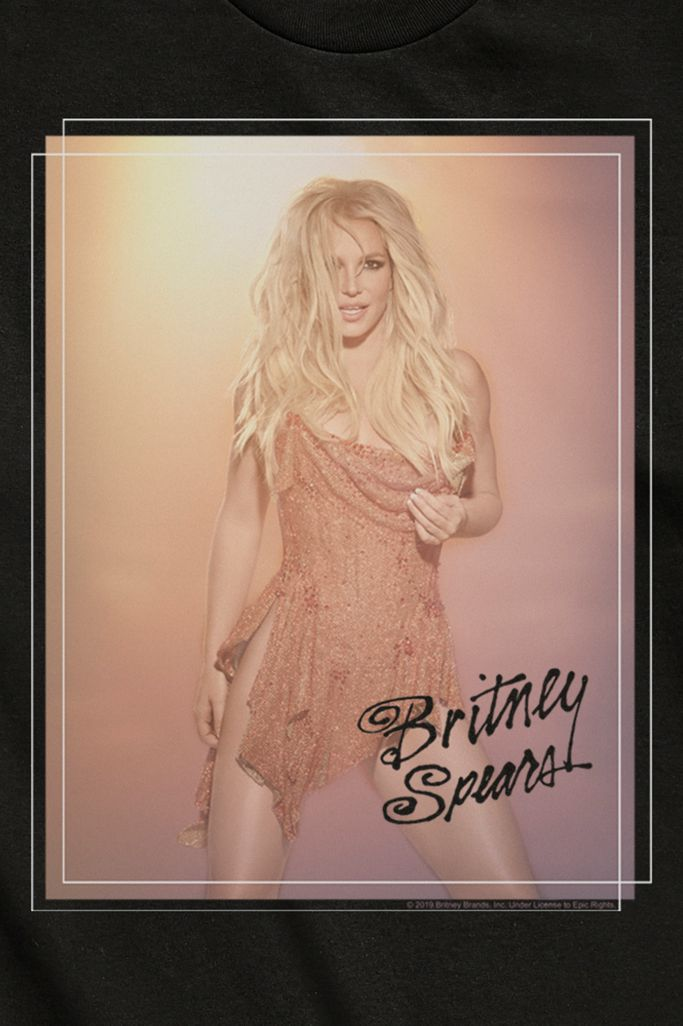 Britney Spears Vegas Poster Tee Urban Outfitters