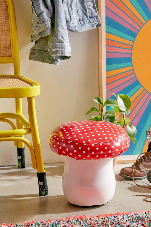 Toadstool Mushroom Stool Urban Outfitters