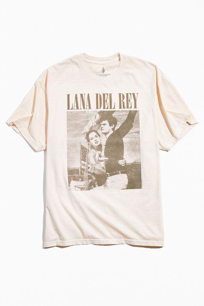 Lana Del Rey Uo Exclusive Album Tee Urban Outfitters