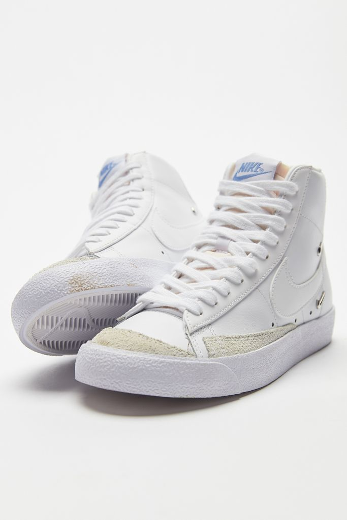 Women's Nike Blazer Mid '77 'White / Soft Blue' .00 Free Shipping