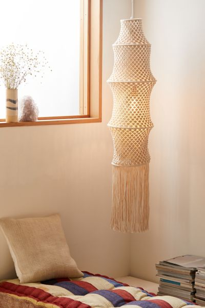 Macrame Pendant Light Shade Urban Outfitters