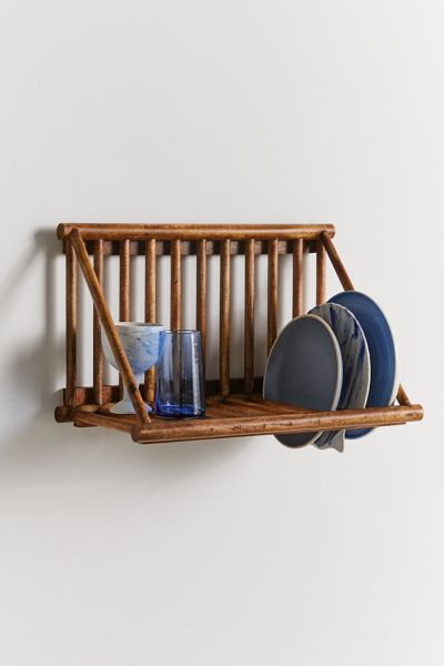 Alexis Plate Rack Wall Shelf Urban Outfitters