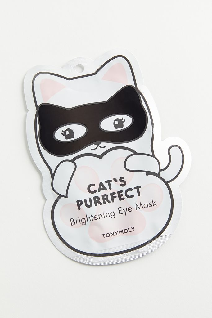 TONYMOLY Cat's Purrfect Brightening Eye Mask | Urban Outfitters Canada