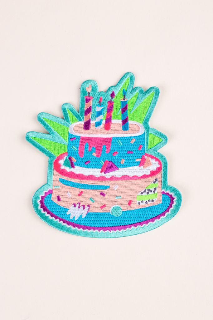 Terrific Mokuyobi Birthday Cake Large Patch Urban Outfitters Funny Birthday Cards Online Amentibdeldamsfinfo
