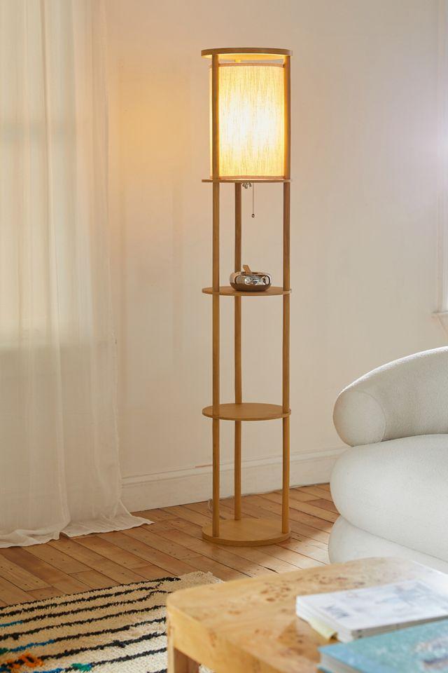 Stewart Shelf Floor Lamp Urban Outfitters, Floor Lamps With Shelf Canada