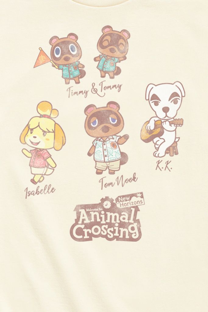Animal Crossing Character Tee Urban Outfitters