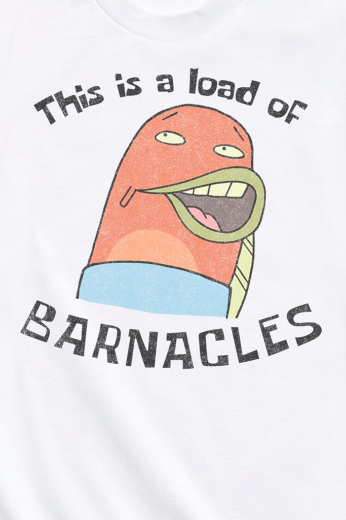 Spongebob Squarepants A Load Of Barnacles Tee Urban Outfitters