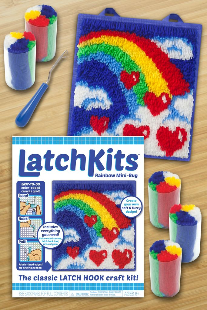 Diy Latch Hook Mini Rug Kit Urban