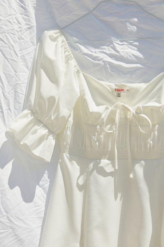 Eggie Magnolia Puff Sleeve Mini Dress | Urban Outfitters